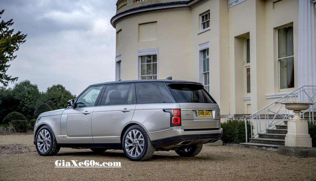 Mẫu Xe Cao Cấp Land Rover Range Rover Autobiography phiên bản trục cơ sở dài LWB Model Year 2019 có màu ánh kim đẹp nhất là Aruba vàng cát.
