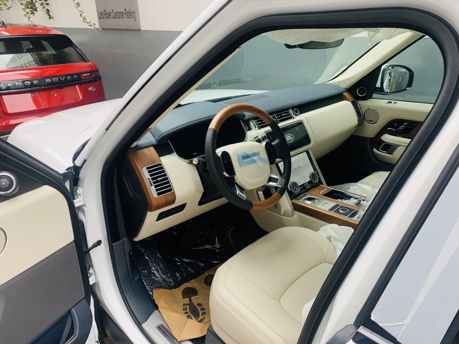 xe range rover phiên bản autobiography lwb màu trắng nội thất kem giá bán 12 tỷ