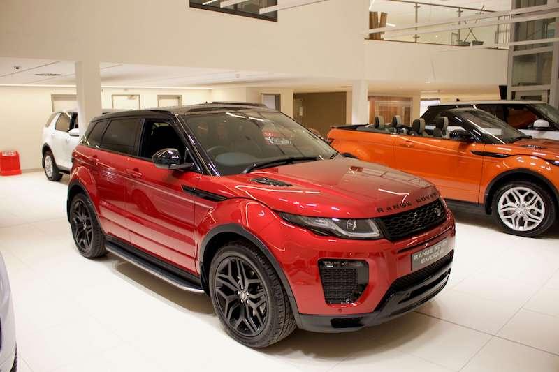 Địa Chỉ Showroom Land Rover Jaguar SR mới tại Paragon, số 3 Đường Nguyễn Lương Bằng, Phú Mỹ Hưng, Quận 7, TP HCM có trưng bày  đầy đủ các mẫu xe 5 và 7 chỗ của thương hiêu nhập anh quốc