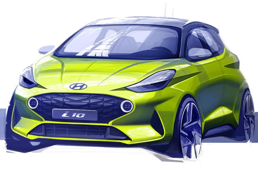 Mẫu Hyundai cỡ nhỏ Grand I10 Thế hệ hoàn toàn mới 2020