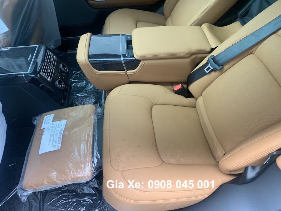 Range Rover phiên bản LWB autobiography nội thất màu da bò đep hơn cả xe của ngọc trinh