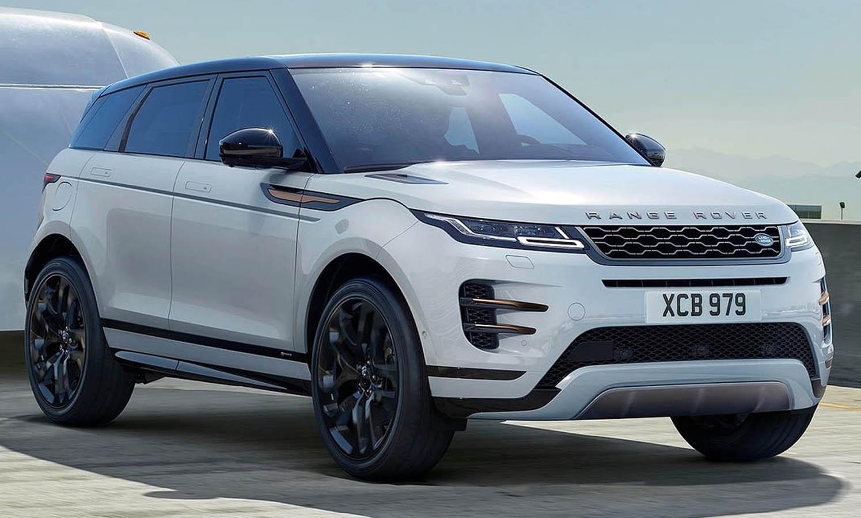 Màu xe range rover evoque phiên bản r-dynamic se màu trắng 2020